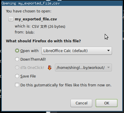 Download JavaScript Data as Files on the Client Side | Shing's Blog