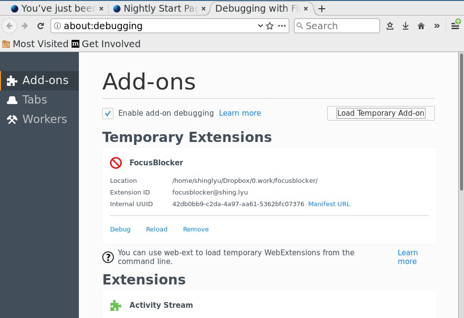 Porting Chrome Extension to Firefox | Shing's Blog